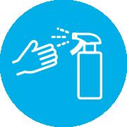 手洗いと消毒
